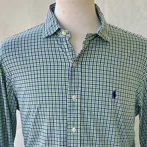Polo by Ralph Lauren Performance L/S Shirt. Large